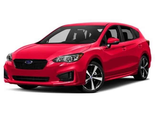 2018 Subaru Impreza 2.0i Sport with EyeSight, Moonroof, Blind Spot Detection & Starlink 5-door