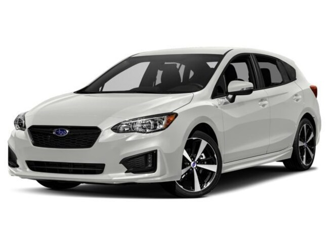New 2018 Subaru Impreza 2.0i Sport with EyeSight, Moonroof, Blind Spot Detection & Starlink 5-door Lansing