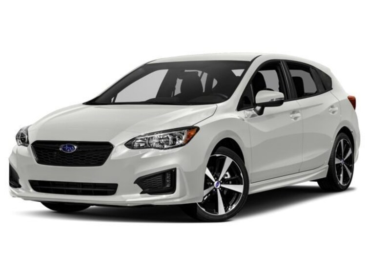 2018 Subaru Impreza 2.0i Sport with EyeSight, Moonroof, Blind Spot Detection & Starlink 5-door at Vista Subaru