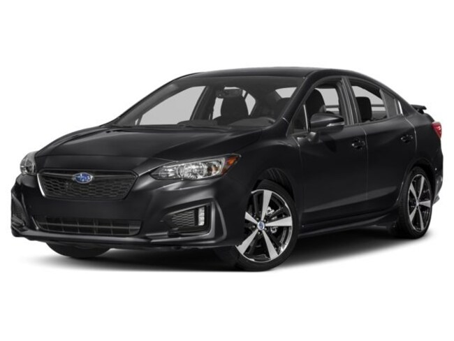 New 2018 Subaru Impreza 2.0i Sport with Moonroof, Blind Spot Detection & Starlink Sedan in Whitefish, MT