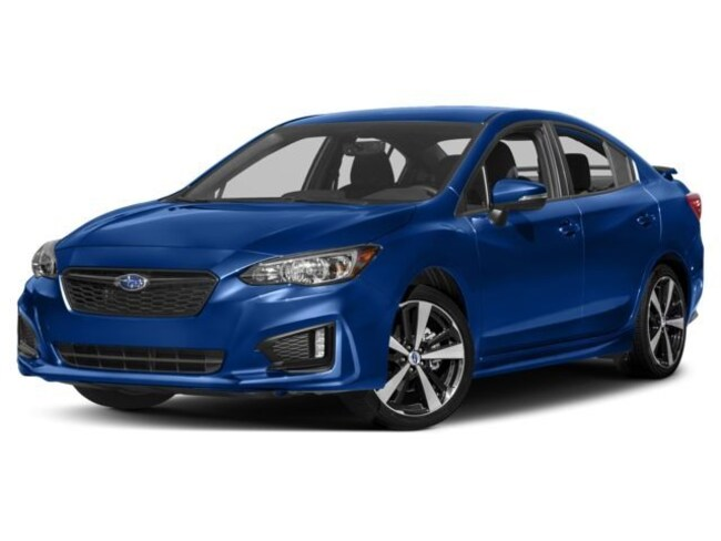 New 2018 Subaru Impreza 2.0i Sport with Eyesight, Moonroof, Blind Spot Detection & Starlink Sedan in Bennington, VT