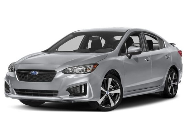 New 2018 Subaru Impreza 2.0i Sport with Eyesight, Moonroof, Blind Spot Detection & Starlink Sedan in Bangor