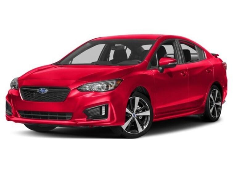 New 2018 Subaru Impreza 2.0i Sport with Moonroof, Blind Spot Detection & Starlink Sedan Burlingame
