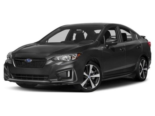 New 2018 Subaru Impreza 2.0i Sport with Eyesight, Moonroof, Blind Spot Detection & Starlink Sedan Thousand Oaks