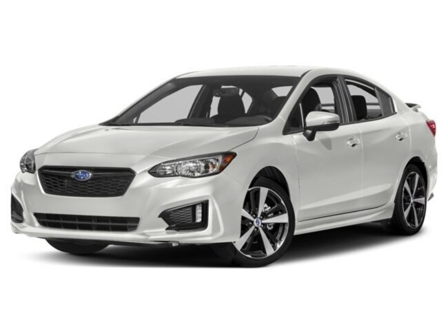 New 2018 Subaru Impreza 2.0i Sport with Eyesight, Moonroof, Blind Spot Detection & Starlink Sedan For Sale Parkersburg, WV