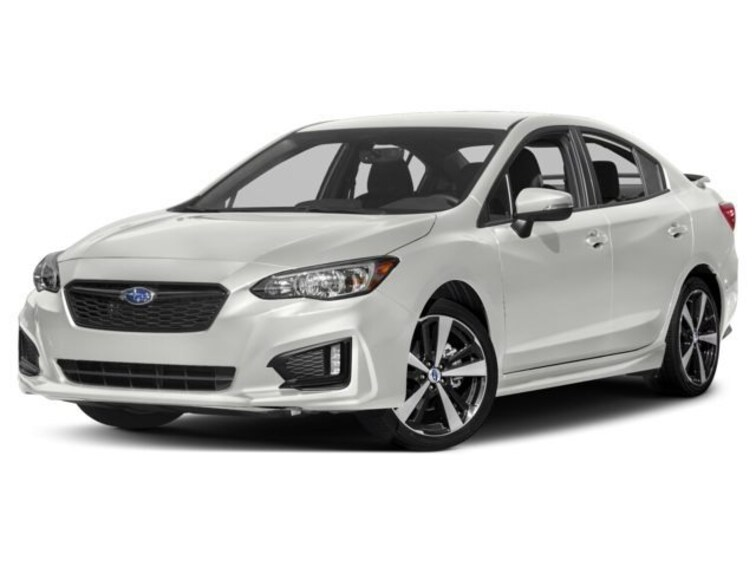 New 2018 Subaru Impreza 2.0i Sport with Eyesight, Moonroof, Blind Spot Detection & Starlink Sedan Burlingame