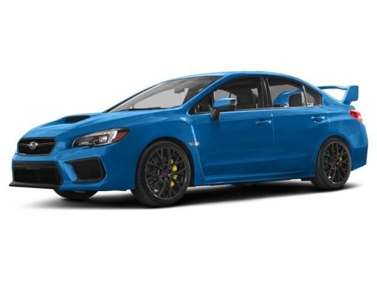 New 2018 Subaru WRX STI Limited w/Wing Sedan for sale near San Francisco at Marin Subaru