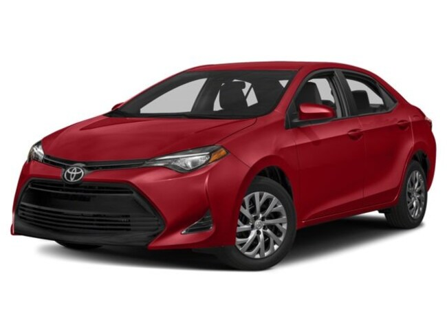 New 2018 Toyota Corolla XLE Sedan in Barstow, CA