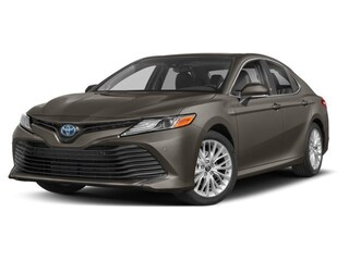New 2018 Toyota Camry Hybrid XLE Sedan 1802544 Boston, MA