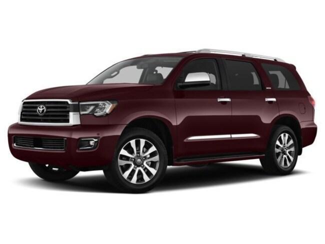 New 2018 Toyota Sequoia Limited SUV in Auburn, MA