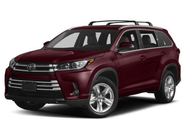 New 2018 Toyota Highlander Limited V6 SUV San Antonio