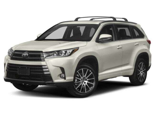 New 2018 Toyota Highlander SE V6 SUV in Avondale, AZ