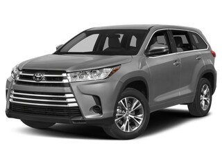 New 2018 Toyota Highlander LE V6 SUV
