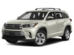 2018 Toyota Highlander Limited. SUV