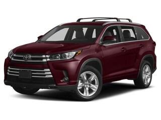 2018 Toyota Highlander Limited. SUV