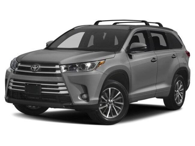 New 2018 Toyota Highlander XLE SUV for sale at Young Toyota Scion in Logan, UT