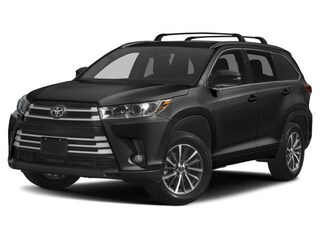 New 2018 Toyota Highlander XLE V6 SUV 1846772 Boston, MA