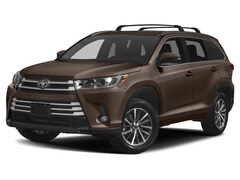 New 2018 Toyota Highlander XLE V6 SUV for sale in East Providence at Grieco Toyota