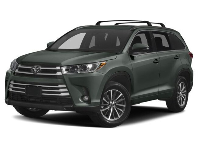 New 2018 Toyota Highlander XLE V6 SUV for sale in Charlottesville