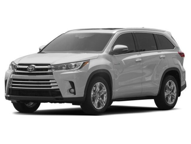 New 2018 Toyota Highlander Hybrid Limited V6 SUV near Dallas, TX