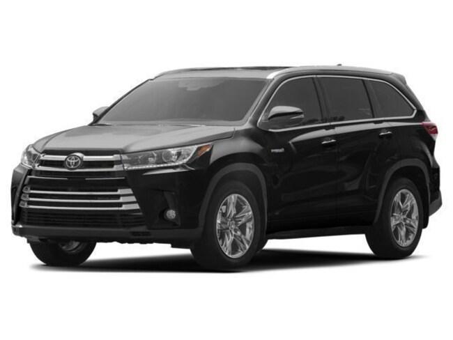 New 2018 Toyota Highlander Hybrid Limited V6 SUV Cockeysville