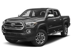 New 2018 Toyota Tacoma Limited V6 w/ TRD Performance Exhaust Truck Double Cab in Portsmouth, NH