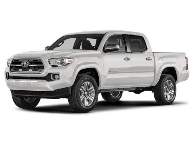 2018 Toyota Tacoma Limited Double Cab 5 Bed V6 4x4 AT Truck Double Cab