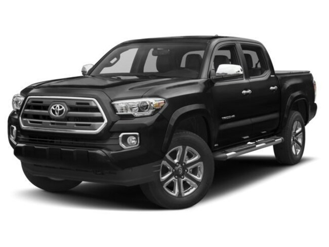 New 2018 Toyota Tacoma Limited V6 Truck Double Cab Silver Spring, MD