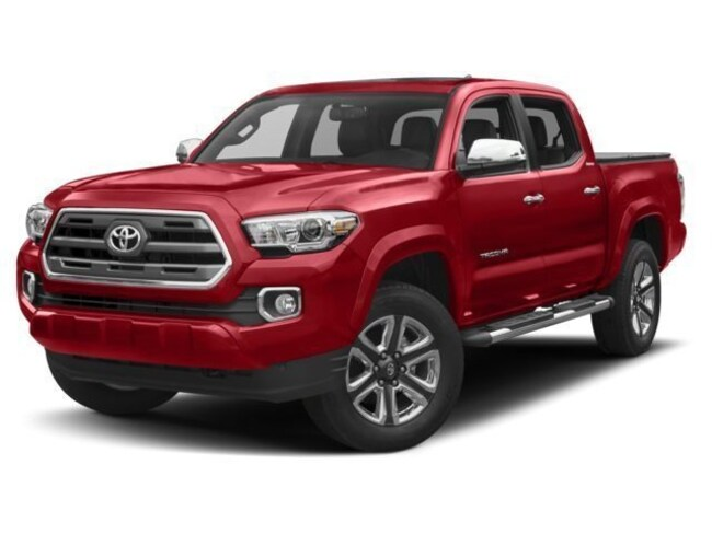 New 2018 Toyota Tacoma Limited V6 Truck Double Cab for sale in the Brunswick, OH
