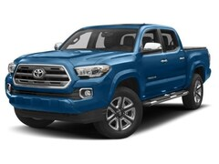 New 2018 Toyota Tacoma Limited V6 Truck Double Cab 586718 in Chico, CA