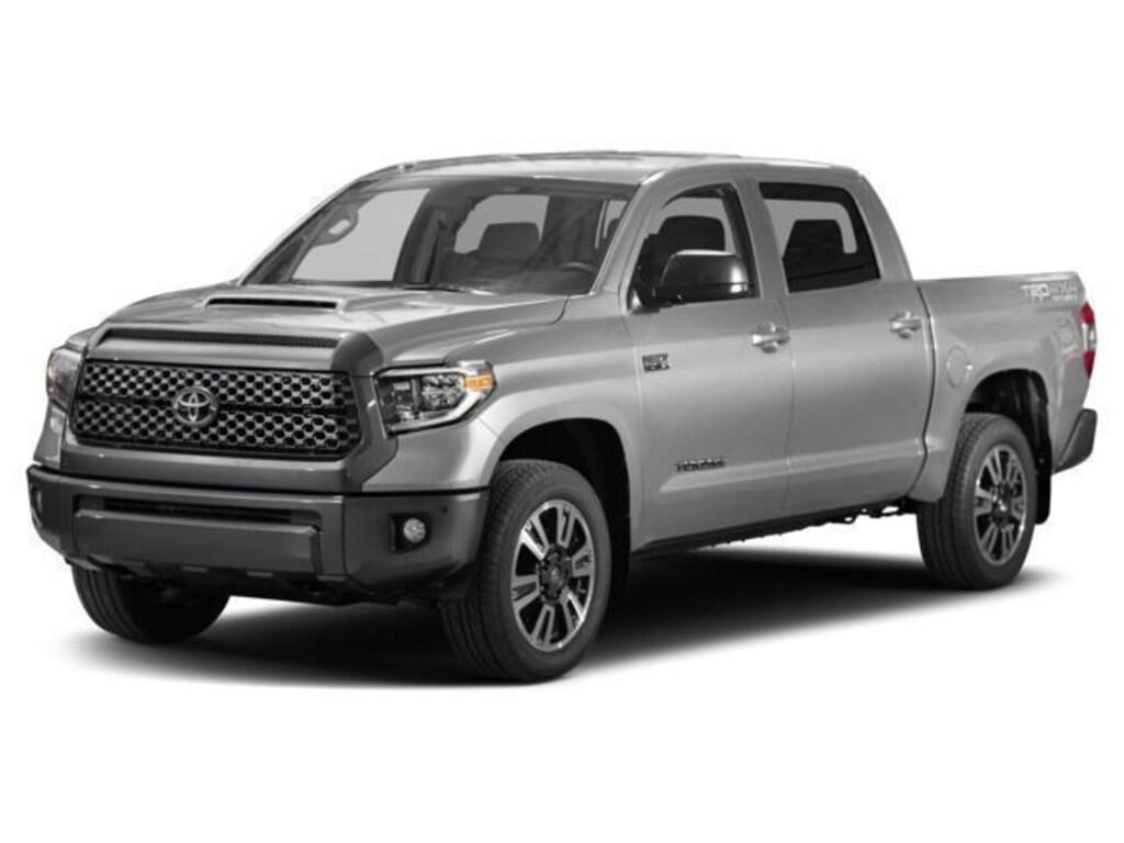 Used 2018 Toyota Tundra Truck CrewMax SR5 5 7L V8 Silver