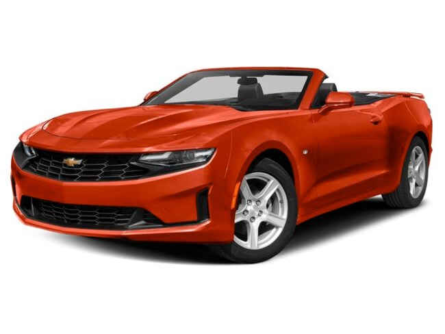 New 2019 Chevrolet Camaro Convertible for sale near Jasper, IN