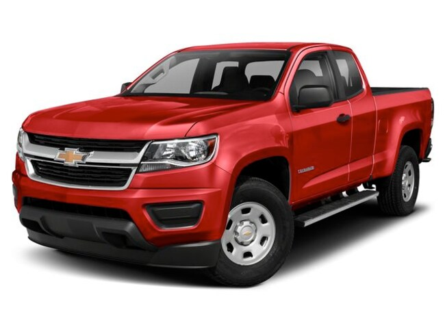 New 2019 Chevrolet Colorado Work Truck Truck Extended Cab 1GCHTBEN6K1205989 for sale near Pittsfield MI