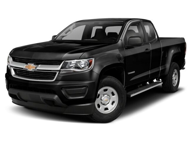 New 2019 Chevrolet Colorado Work Truck Truck Extended Cab 1GCHTBEN7K1205807 for sale near Pittsfield MI