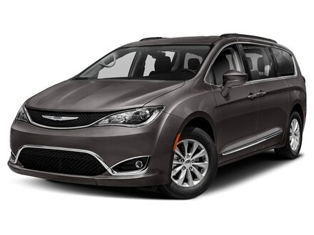 New 2019 Chrysler Pacifica TOURING L bright white exterior blackblackblack interior VIN 2C4RC1