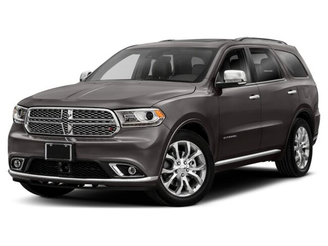 New 2019 Dodge Durango CITADEL AWD Sport Utility in Mitchell, SD