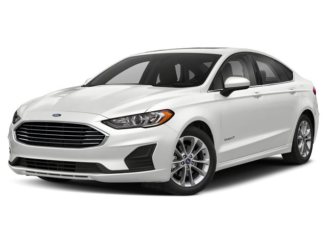 Featured new 2019 Ford Fusion Hybrid SE Hybrid w/ Tech Package ** Retired Courtesy ** Sedan for sale in Louisburg, KS