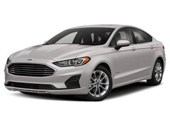 New 2019 Ford Fusion Hybrid Titanium Sedan 3FA6P0RU2KR248495 in Rochester, New York, at West Herr Ford of Rochester