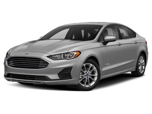 2019 Ford Fusion Hybrid Hybrid Titanium Sedan