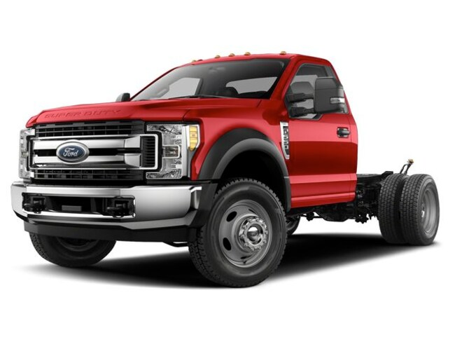 2019 Ford Super Duty F-550 DRW XL 4WD Reg Cab 145 WB 60 CA Regular Cab Chassis-Cab