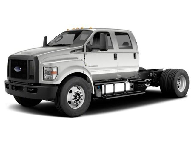 2019 Ford F-750 Diesel Base Truck Crew Cab