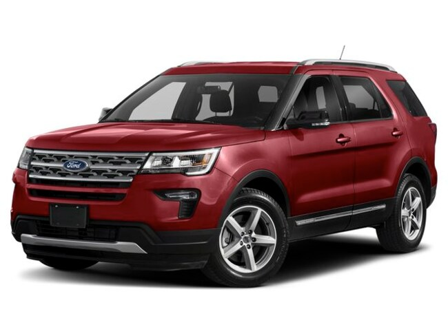 New 2019 Ford Explorer Limited SUV for sale in Taylorville, IL