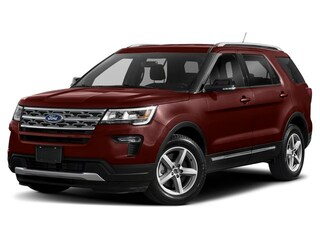 2019 Ford Explorer Platinum 4WD Sport Utility Vehicles