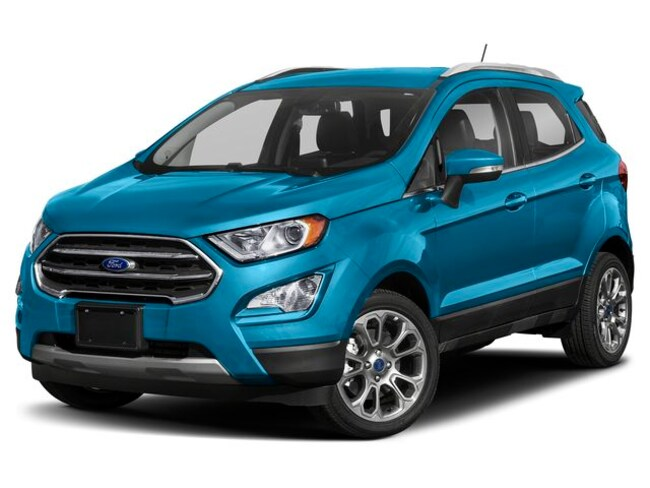 New 2019 Ford EcoSport Titanium SUV For Sale Near Manchester, NH