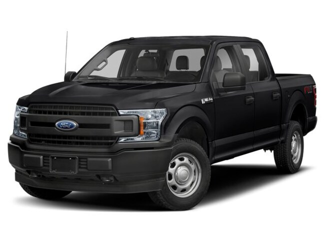 2019 Ford F-150 XL 4x4 SuperCrew Cab Styleside 5.5 ft. box 145 in.