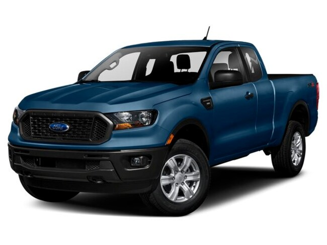new 2019 Ford Ranger LARIAT Truck SuperCab Green Bay