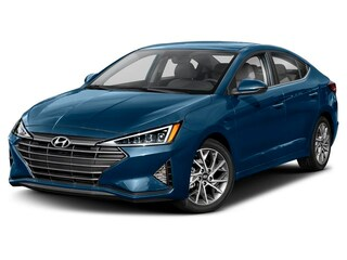 2019 Hyundai Elantra Limited w/SULEV Sedan Lakeside Blue
