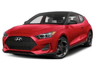 2019 Hyundai Veloster Turbo Ultimate Hatchback Racing Red w/Black Roof