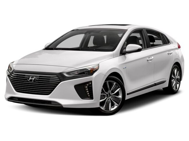 New Hyundai 2019 Hyundai Ioniq Hybrid Blue Hatchback for sale in Auburn, MA