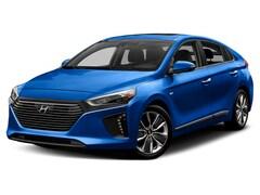 New 2019 Hyundai Ioniq Hybrid Blue Hatchback KMHC65LC9KU113368 for Sale in St Paul, MN at Buerkle Hyundai